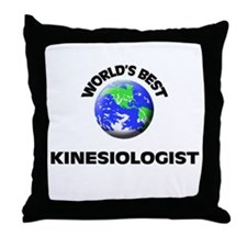 World's Best Kinesiologist Throw Pillow
