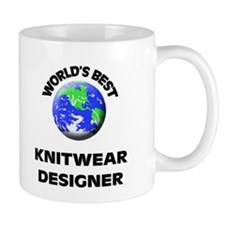 World's Best Knitwear Designer Mug