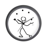 Stickman Wall Clock