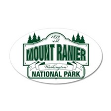 Mt Ranier NP Wall Decal