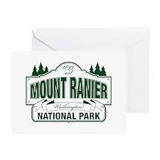 Mt Ranier NP Greeting Card