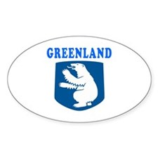 Greenland Coat Of Arms Designs Decal