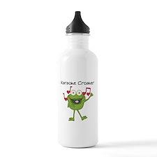 Karaoke Croaker Water Bottle