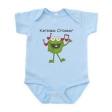 Karaoke Croaker Infant Bodysuit