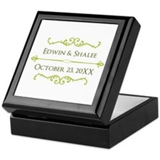 Personalized Anniversary Gift Keepsake Box