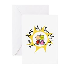 In Love You Are My Sunshine Greeting Cards (Pk of
