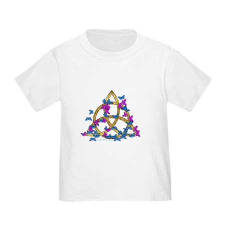 Butterfly Triquetra Toddler T-Shi