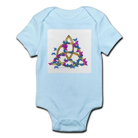 Butterfly Triquetra Infant Creeper