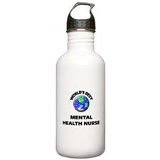 World's Best Mental Health Nurse Water Bottle