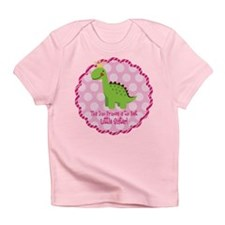 Dino Princess Little Sister Infant T-Shirt
