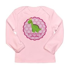Dino Princess Little Sister Long Sleeve T-Shirt