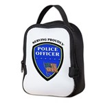 Police Insulated Lunch Bag