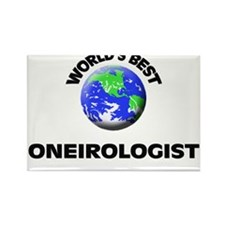 World's Best Oneirologist Rectangle Magnet
