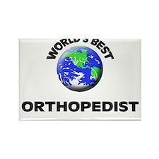 World's Best Orthopedist Rectangle Magnet