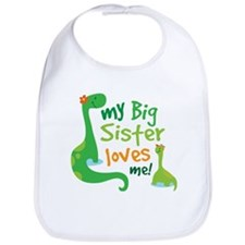 My Big Sister Loves Me Bib