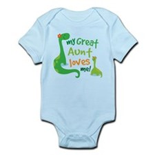 My Great Aunt Loves Me Infant Bodysuit