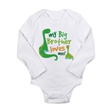 Big Brother Loves Me dinosaur Long Sleeve Infant B