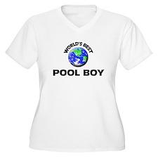 World's Best Pool Boy Plus Size T-Shirt