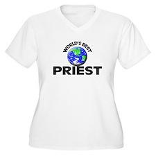 World's Best Priest Plus Size T-Shirt