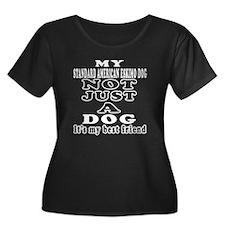 Standard American Eskimo Dog not just a dog Women'