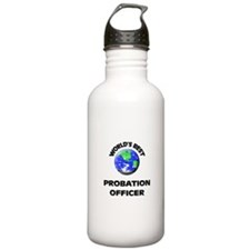 World's Best Probation Officer Water Bottle