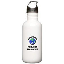 World's Best Project Manager Water Bottle