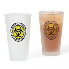 Zombie Outbreak Response Team Drinking Glass