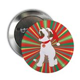 Caroling Xmas Puppy Button
