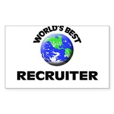 World's Best Recruiter Decal