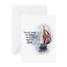 You Cant Change the Wind.png Greeting Card