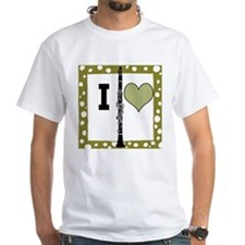 Shirt I Love Clarinet