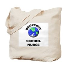 World's Best School Nurse Tote Bag