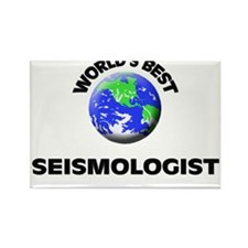 World's Best Seismologist Rectangle Magnet