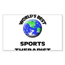 World's Best Sports Therapist Decal