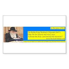 Rebbe King Messiah says Decal