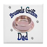 Brussels Dad Tile Coaster