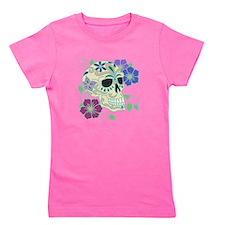 Sugar Skull - Day of the Dead Girl's Tee