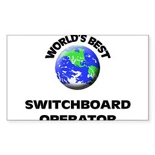 World's Best Switchboard Operator Decal