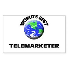 World's Best Telemarketer Decal