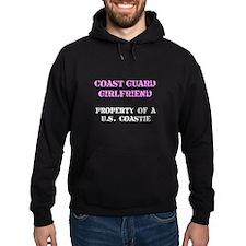 Coast Guard Girlfriend Hoodie