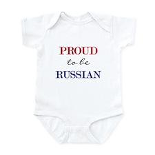 Russian Pride Infant Bodysuit
