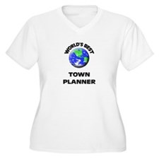 World's Best Town Planner Plus Size T-Shirt