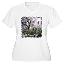 Island Pathways Plus Size T-Shirt