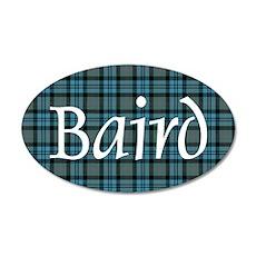 Tartan - Baird 20x12 Oval Wall Decal