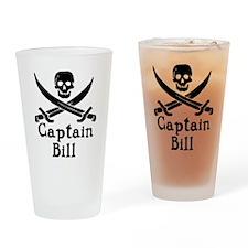 Captain Bill Drinking Glass