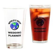 World's Best Wedding Planner Drinking Glass