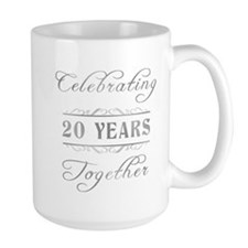 Celebrating 20 Years Together Mug