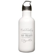 Celebrating 60 Years Together Water Bottle