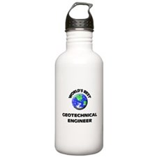 World's Best Geotechnical Engineer Water Bottle