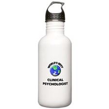 World's Best Clinical Psychologist Water Bottle